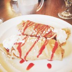 Wish this was my breakfast every morning!! wereback simplycrepes vacationhellip