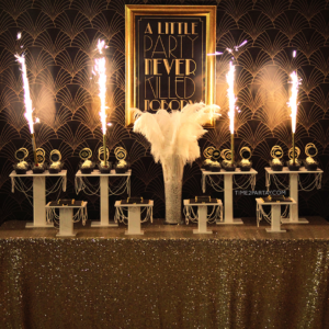 A Great Gatsby Themed Graduation Party