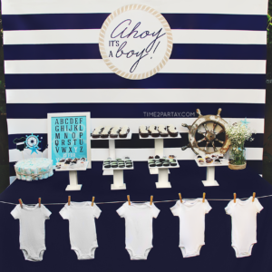 A Nautical Themed Baby Shower