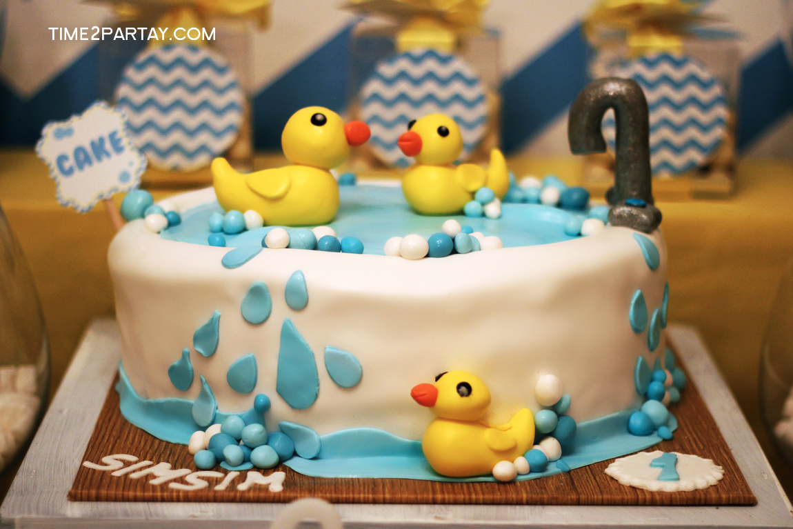 A Rubber Ducky Themed First Birthday Time2partay Com
