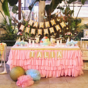 A Shabby Chic First Birthday Party