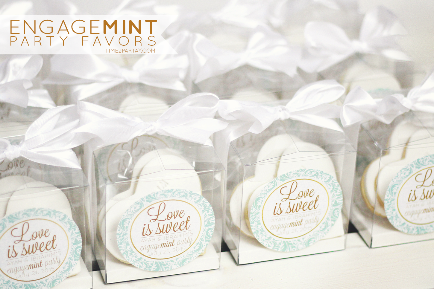 "Engage""mint"" Party Favors 