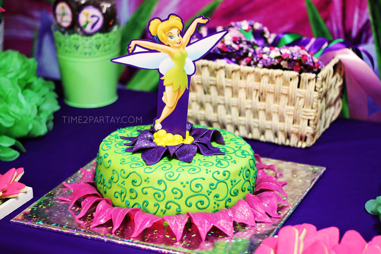 Tinker Bell Themed Birthday