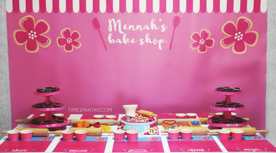 A Bake Shop Birthday Party