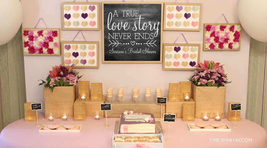 A Vintage Love Story Bridal Shower