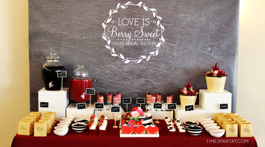 A Berry Sweet Bridal Shower