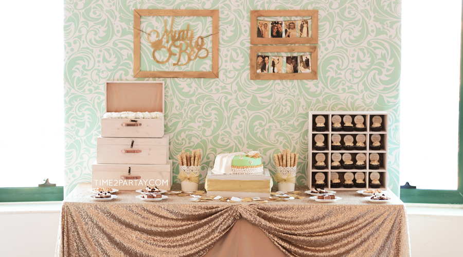 A Mint-to-Be Bridal Shower