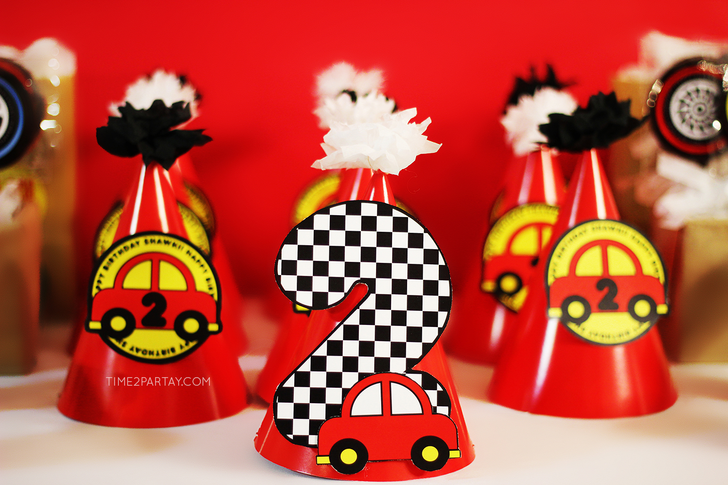 Mini Car Birthday Cake Ideas