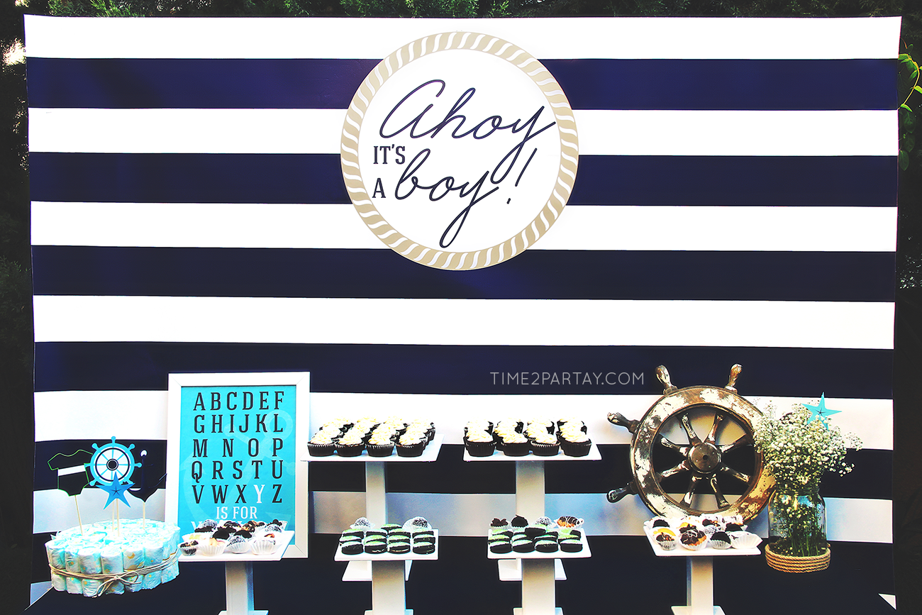 nautical themed baby shower nautical baby shower. Black Bedroom Furniture Sets. Home Design Ideas