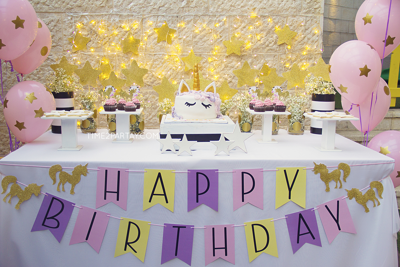 A Unicorn Birthday Party | Time2Partay.com
