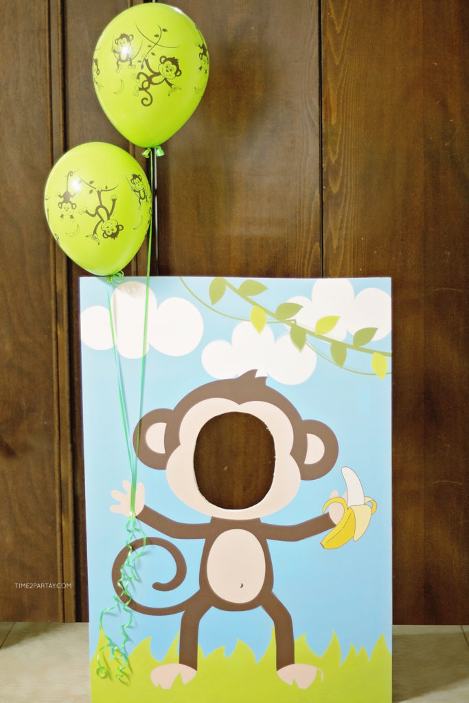 A Monkey Themed First Birthday Time2partay Com